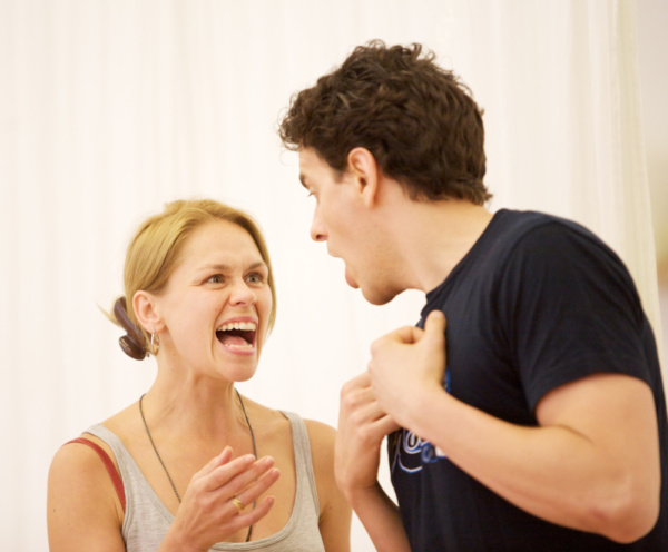 Photo Flash: In Rehearsals for the UK Premiere of TENDERLY