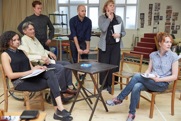 Photo Flash: Inside Rehearsal for RULES FOR LIVING on Tour