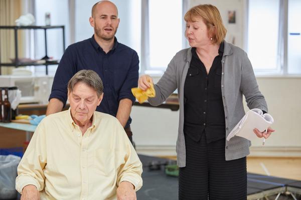 Paul Shelley (Francis), Ed Hughes (Adam) and Jane Booker (Edith)