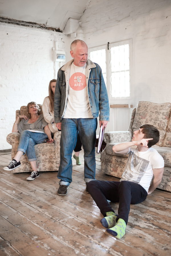 Photo Flash: In Rehearsal with Charlie Hardwick and More for HYEM (YEM, HJEM, HOME) at Theatre503