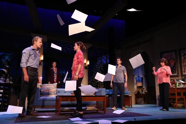 Kevin Kilner (Lyman Wyeth) Deirdre Madigan (Silda Gauman), Liza J. Bennett (Brooke Wyeth), Charles Socarides (Trip Wyeth), Patricia Richardson (Polly Wyeth)