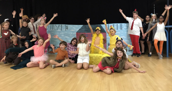 BARNYARD FOLLIES by Sam Carner - meet the cast of this new musical at Moonlit Wings P Photo