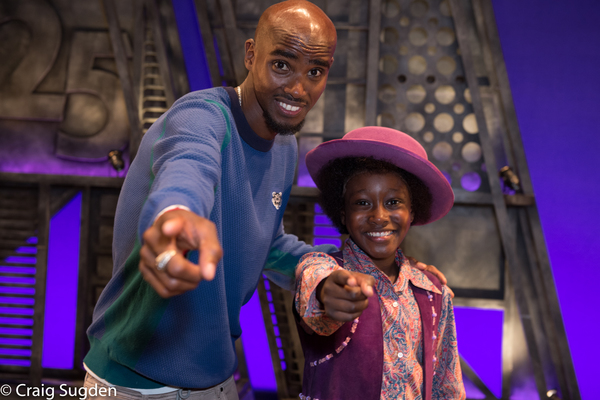 Photo Flash: Mo Farah Boogies Down with MOTOWN on the West End
