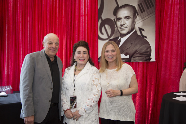 Emmy/Grammy winning composer Charles Fox, Presidend and Co-Founder of The Jose' Iturbi Foundation Donelle Dadigan and recording artist Rolyn Kind