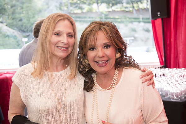 Recording Artist Roslyn Kind and TV Icon Dawn Wells Photo