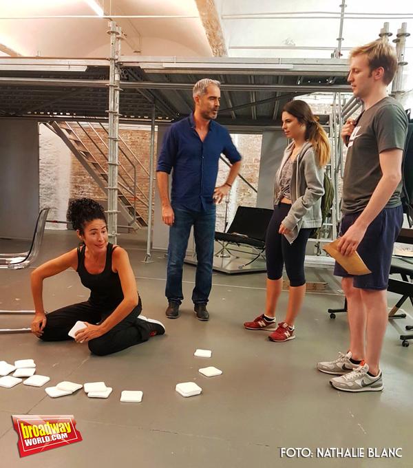 Nina, Nando Gonzalez, Jana Gomez y Guido Balzaretti Photo
