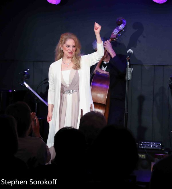 Photo Coverage: Julie Budd Remembers Mr. Sinatra at Mr. Finn's Cabaret