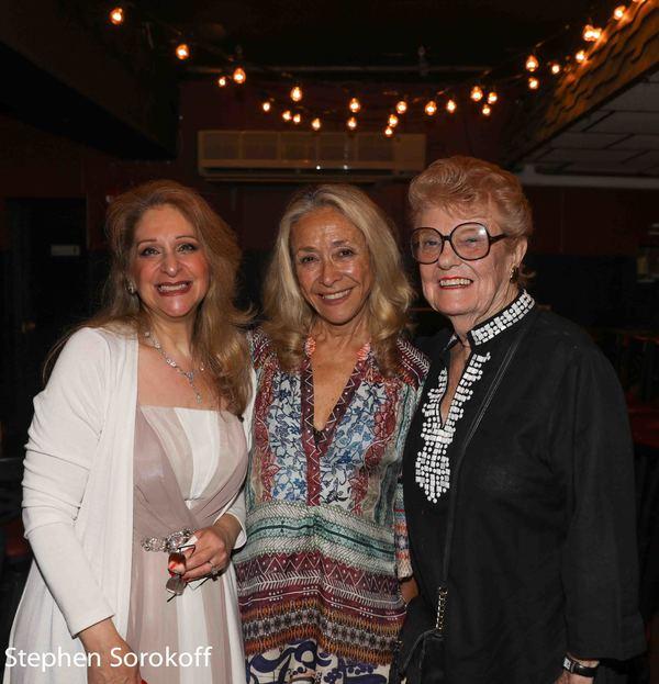 Julie Budd, Eda Sorokoff, June Freemazon
