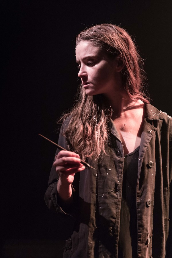 Photo Flash: First Look at KNIVES IN HENS at the Donmar Warehouse
