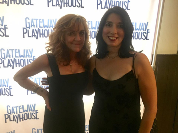 Andrea McArdle with Jennifer Gatewood Chiong