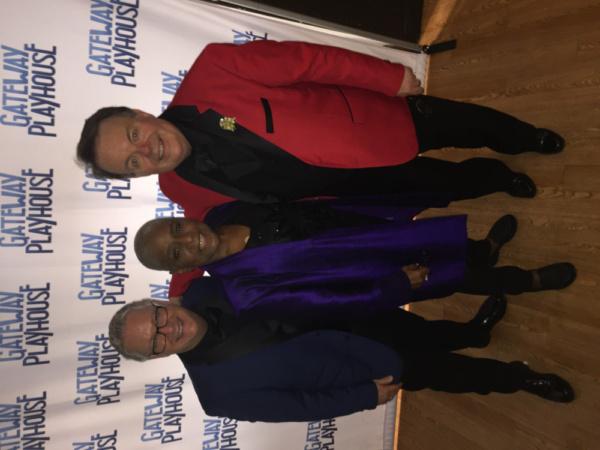 Executive Director Keith Cooper,Actress Terri White, Actor Kelly Briggs