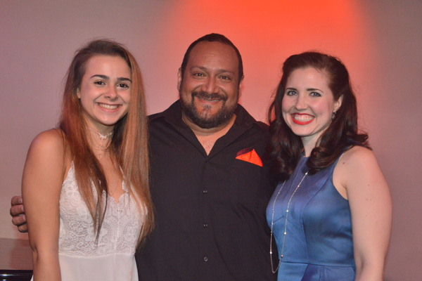 Jackie Tate, David Baida and Emily Ellet