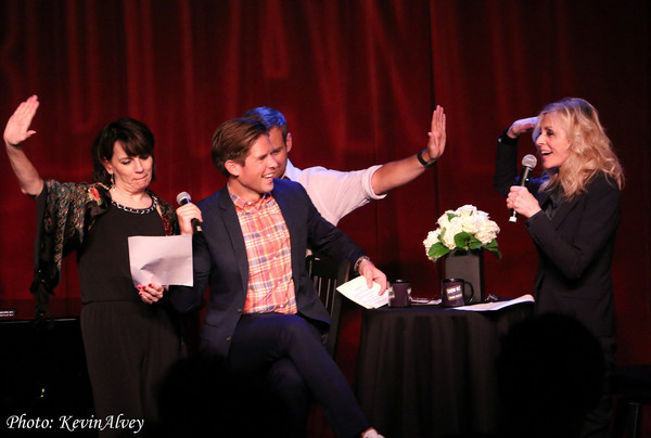 Beth Leavel, Frank DiLella, Chad Kimball and Judith Light
