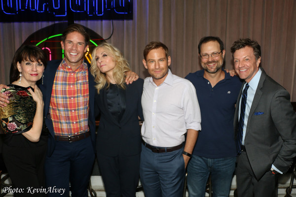 Beth Leavel, Frank DiLella, Judith Light, Chad Kimball, Matthew Sklar and Jim Caruso
