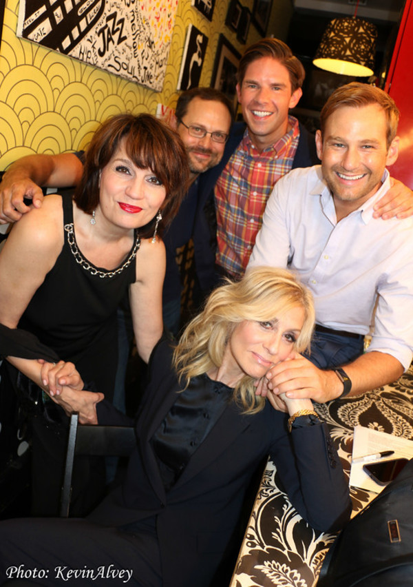 Beth Leavel, Matthew Sklar, Frank DiLella, Chad Kimball and Judith Light