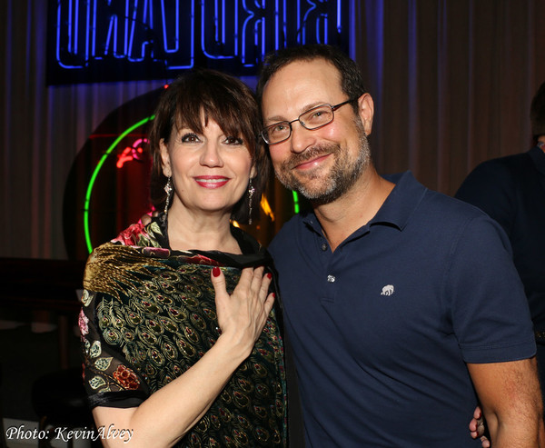 Beth Leavel and Matthew Sklar