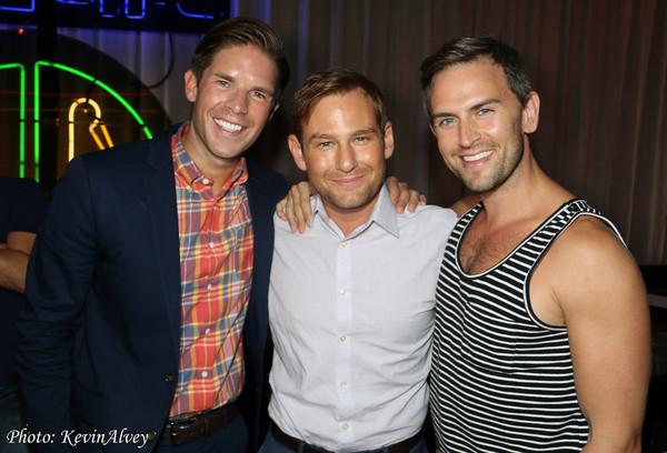 Frank DiLella, Chad Kimball and Daniel Reichard