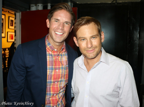 Frank DiLella and Chad Kimball Photo