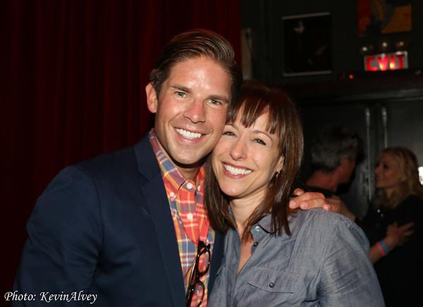 Frank DiLella and Paige Davis Photo