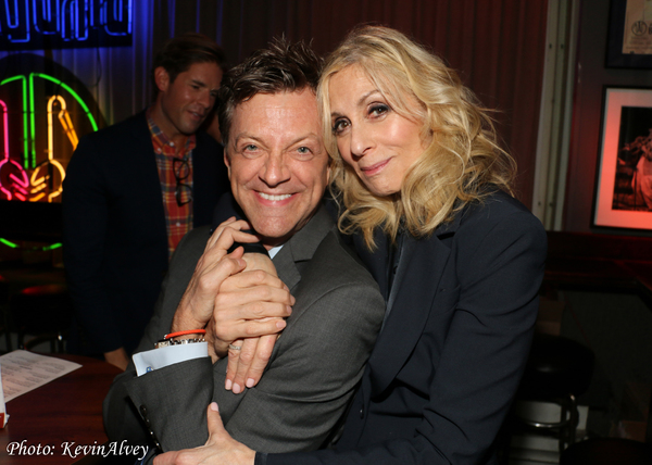 Jim Caruso and Judith Light