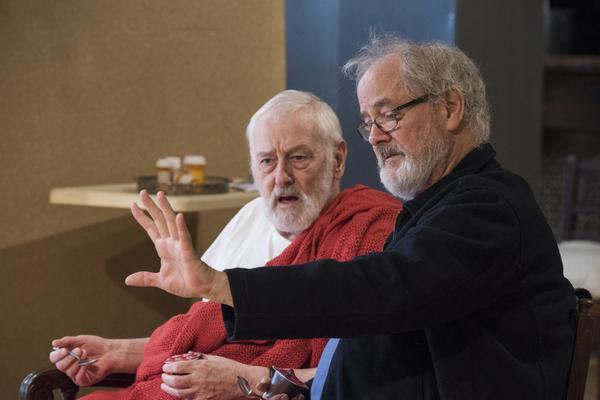 John Mahoney and Francis Guinan Photo
