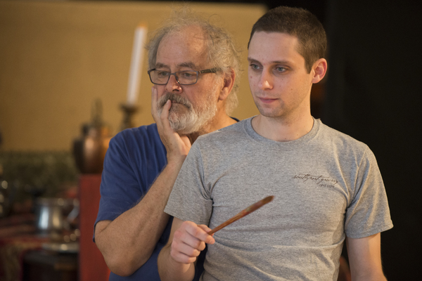 Photo Flash: In Rehearsal for THE REMBRANDT at Steppenwolf Theatre Company