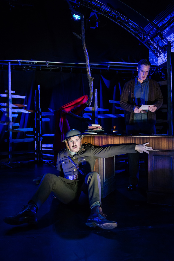 Photo Flash:  Flying Bridge Theatre and Seabright Productions present NOT ABOUT HEROES
