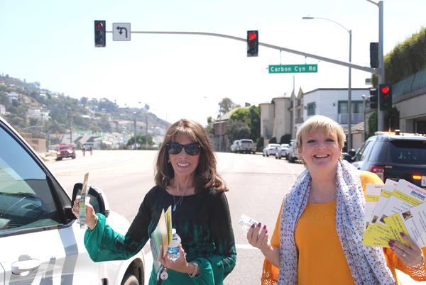 Kate Linder and Alison Arngrim