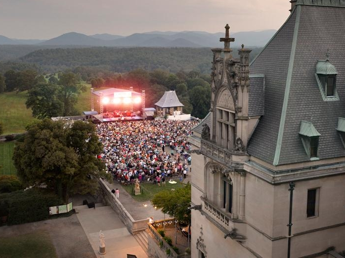 Entertainment Abounds at Biltmore Estate in Asheville