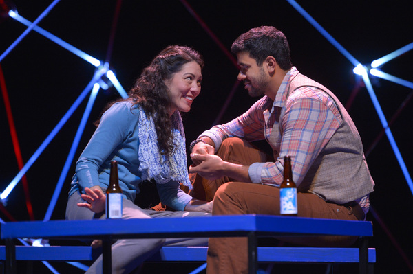 Photo Flash: First Look at CONSTELLATIONS Starring Robert Gilbert and Carie Kawa at TheatreWorks Silicon Valley