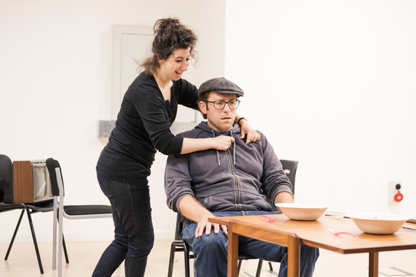 Photo Flash: In Rehearsals for THE KNOWLEDGE at Charing Cross Theatre