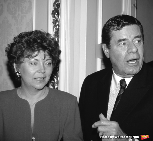 Jerry Lewis and SanDee Pitnick Photo