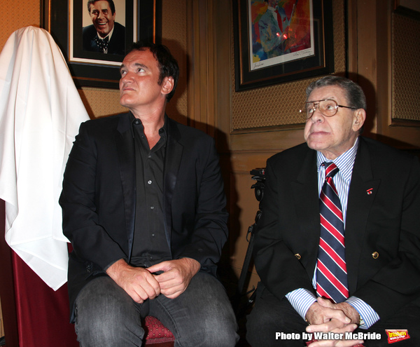 Quentin Tarantino, Jerry Lewis