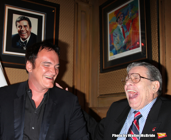 Quentin Tarantino, Jerry Lewis Photo