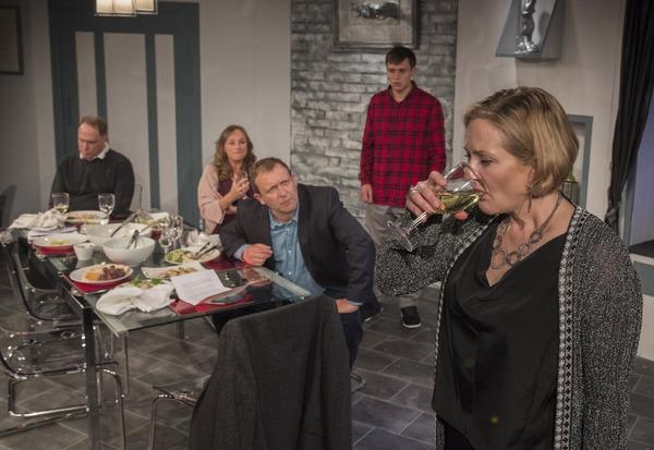 Photo Flash: First Look at LATE COMPANY at Trafalgar Studios
