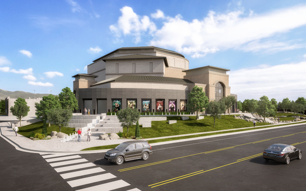 Photo Flash: Sneak Peek at Hale Centre Theatre's New Mountain America Performing Arts Centre
