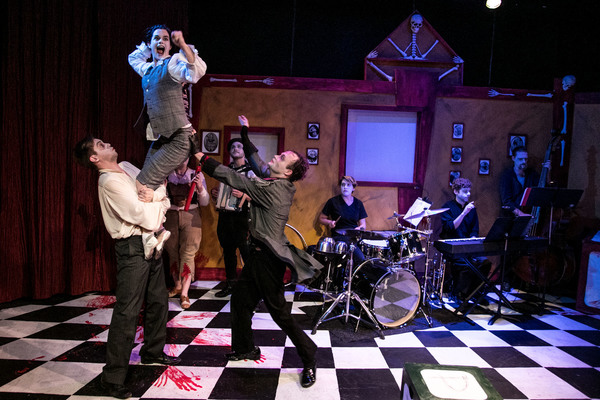 Photo Flash: New Shots from Black Button Eyes Productions' SHOCKHEADER PETER