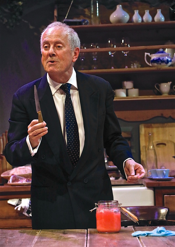 Photo Flash: First Look at HAMLET Starring Gyles Brandreth and Family at Park Theatre