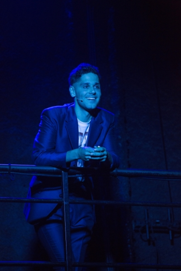 Photo Flash: Get a Blistering First Look at Andy Mientus' BURN ALL NIGHT at A.R.T.