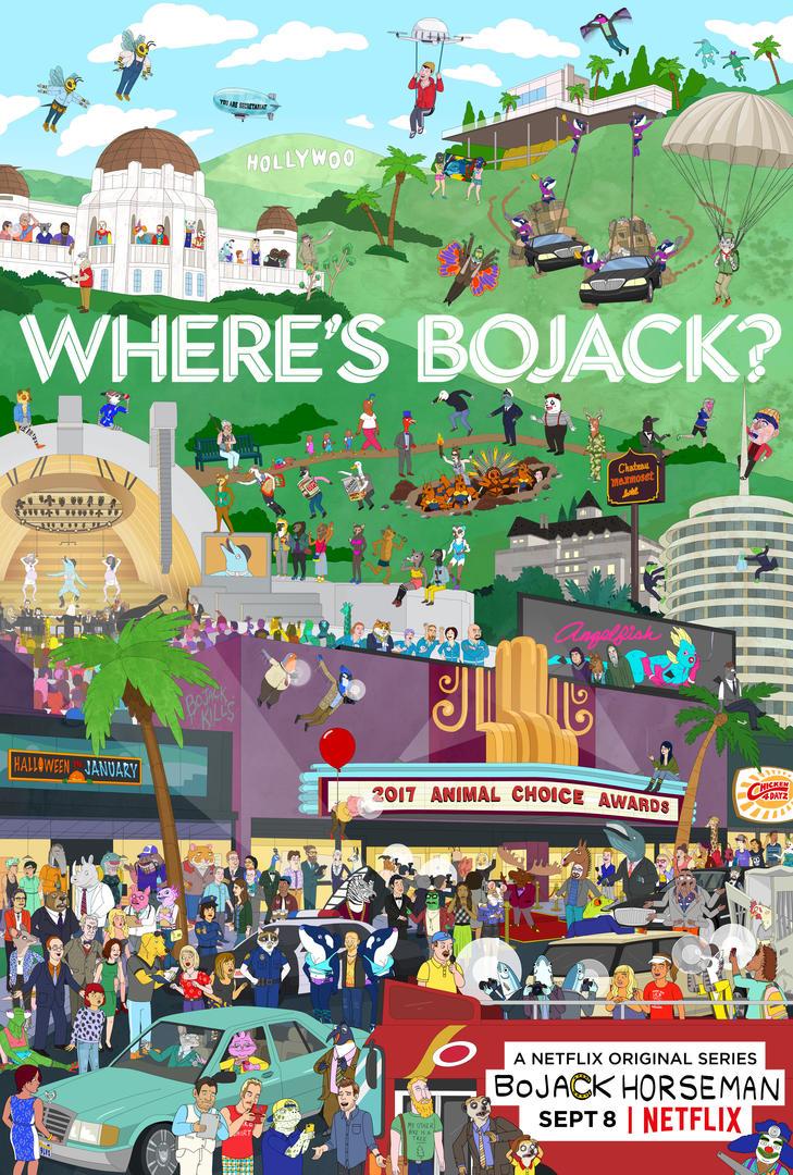 VIDEO: BOJACK HORSEMAN Is Missing! Check Trailer for Season 4 on Netflix