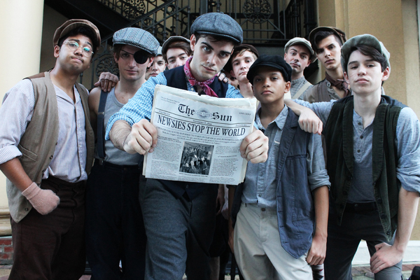 Photo Flash: Today's Headline: Meet the Cast of Disney's NEWSIES at Orlando REP
