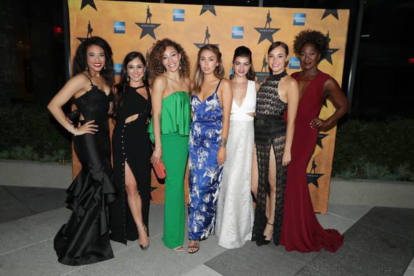 Raven Thomas, Karli Dinardo, Afra Hines, Julia Harriman, Jennifer Geller, Solea Pfeiffer and Amber Iman