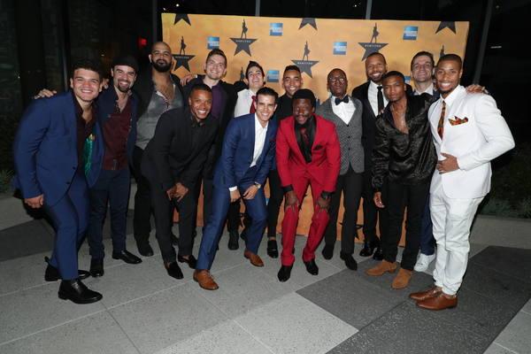 Photo Flash: Michael Luwoye, Joshua Henry, Solea Pfeiffer, Lin-Manuel Miranda and More Fete HAMILTON's Opening Night in L.A.