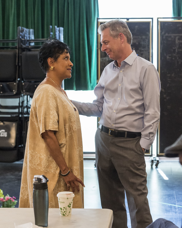 Phylicia Rashad and Michael Ritchie