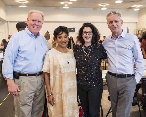Stephen D. Rountree, Phylicia Rashad,  Tina Landau and Michael Ritchie