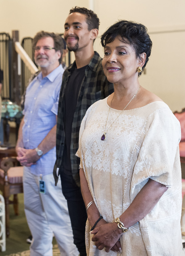 G.W. Mercier and Kyle Beltran and Phylicia Rashad Photo
