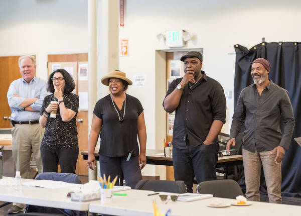 Photos: Inside Rehearsal with Phylicia Rashad and More for HEAD OF PASSES at the Taper