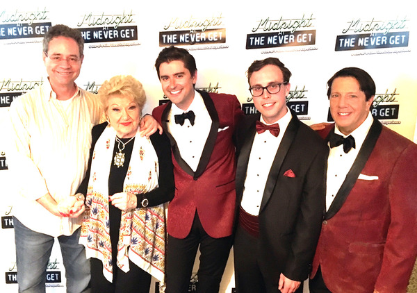 Mark Sendroff, Marilyn Maye,Sam Bolen, Mark Sonnenblick,  Jody O'Neil Photo