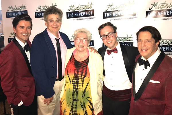 Photo Flash: Marilyn Maye, Faith Prince, and More Visit MIDNIGHT AT THE NEVER GET in Provincetown