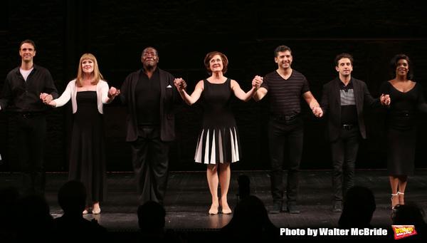 Michael Xavier, Emily Skinner, Chuck Cooper, Karen Ziemba, Tony Yazbeck, Brandon Uran Photo